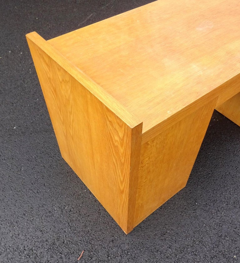 Art Deco Oak Desk For Sale 2
