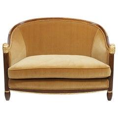 Art Deco Salon Settee