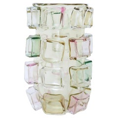 Art Glass Vase by Martin Potsch