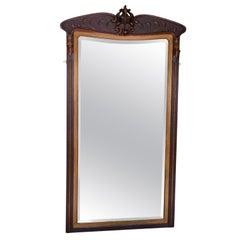 Art Nouveau Full Height Wall Mirror