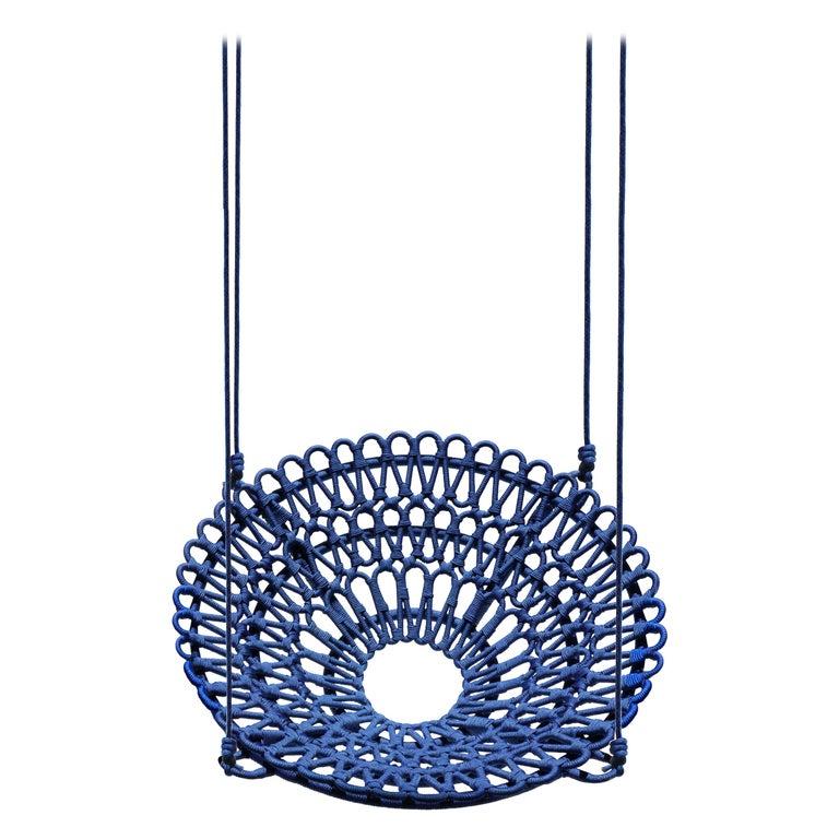 """""""Arupemba"""" Swing in Blue For Sale"""