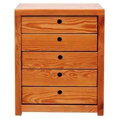Ate Van Apeldoorn Pine Set of Drawers