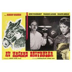 'Au Hasard Balthazar' 1971 Italian Fotobusta Film Poster