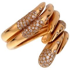 Audemars Piguet Rose Gold Diamond Cocktail Ring