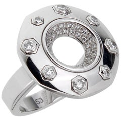 Audemars Piguet Royal Oak Diamond White Gold Ring