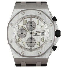 Audemars Piguet Royal Oak Offshore Chronograph Gents Stainless Steel Silver Dial