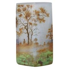 """""""Autumn Landscape"""" by Daum Frères"""