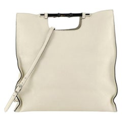 Bamboo Convertible Daily Tote Leather Tall
