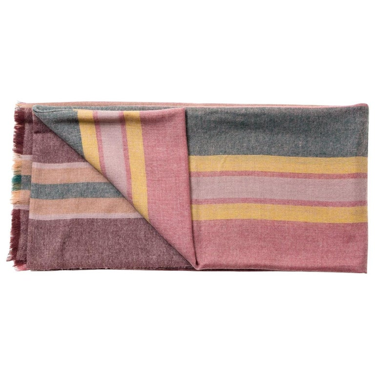 BARQUE Light Weight Merino Throw   For Sale