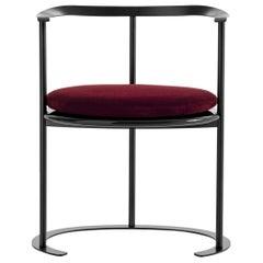 Azucena Catilina Small Armchair with Seat Cushion by Luigi Caccia Dominioni