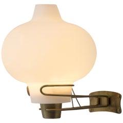 Bent Karlby Opaline Glass Wall Light