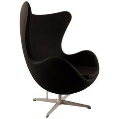Black Egg Chair 3316 by Arne Jacobsen for Fritz Hansen, 2007