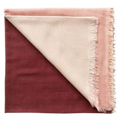BLOK ROSEWOOD Light Weight Throw In Cashmere