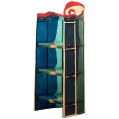 Bookcase Nobody's Shelves Short Body by Gaetano Pesce