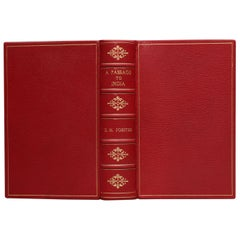 """Books, E.M. Forster's """"A Passage to India"""" First Edition"""
