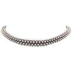 Boucheron 'Grains de Raisin' White Gold Necklace