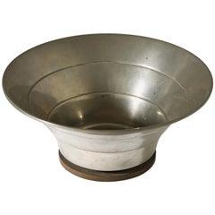 Bowl Designed by Hugo Gelia for Ystad Metall, Sweden, 1941