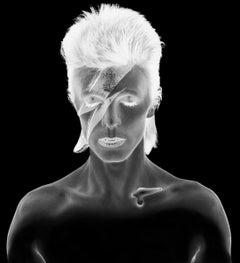 Duffy - Aladdin Sane - David Bowie - original negative re-work edition