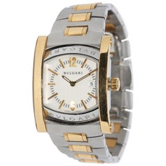 Bulgari Bvlgari Assioma Ladies Wristwatch Steel and 18 Karat Gold, Ref. AA39SG
