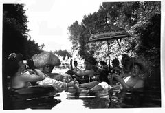 Seattle Tubing Society, Black and White Documentary Photography, Summer