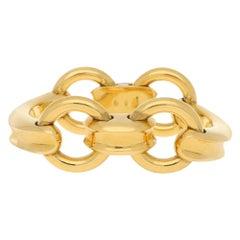 Bvlgari Horse's Bit Bracelet in 18 Karat Yellow Gold