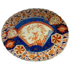 Imari Plate, circa 19th Century