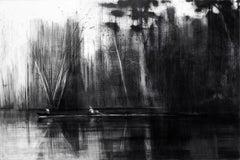 Selvas Negras n°2 - Tropical Forest Landscape, large-scale drawing