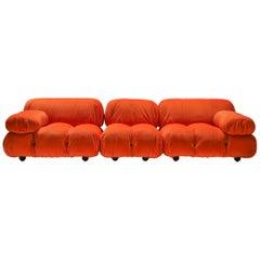 Camaleonda Sectional Sofa in Bright Orange