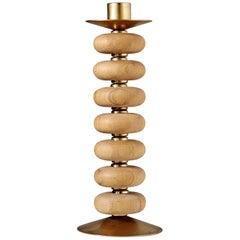 Candlestick, Designed by Erik Höglund for Boda, Sweden, 1960s