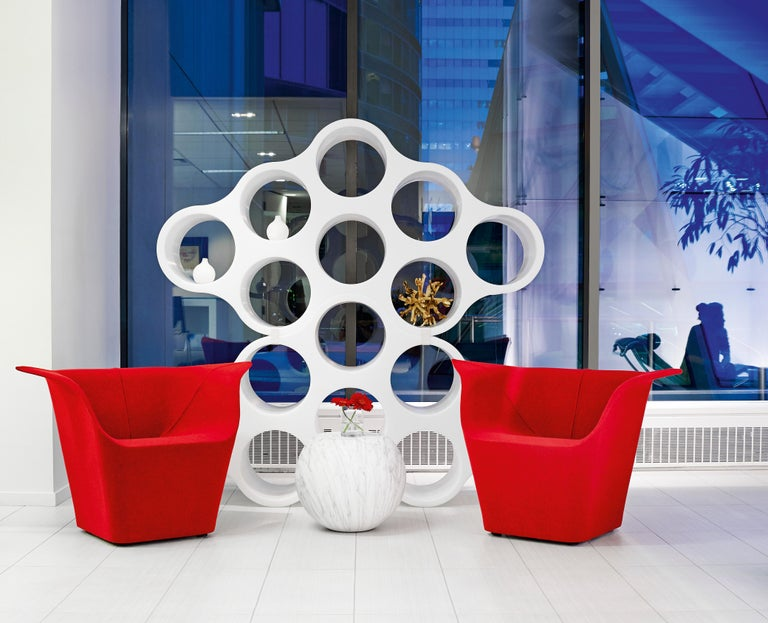 Molded Ronan and Erwan Bouroullec Cloud Two-Sided Bookcase for Cappellini, Quickship  For Sale