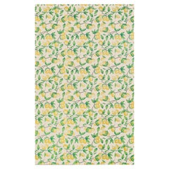 'Capri Lemons' Contemporary, Traditional Wallpaper in Natural