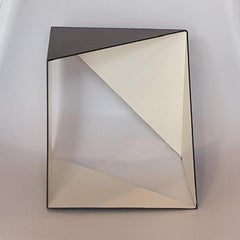 Steel 67 - contemporary modern abstract geometric sculpture