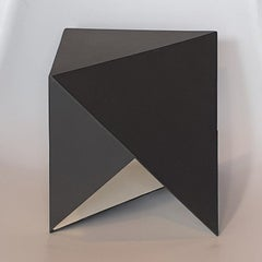 Steel 79 - contemporary modern abstract geometric sculpture