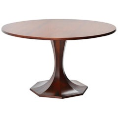 Carlo de Carli Rosewood Dining Table, Italy, 1950