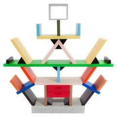 Carlton Wood Room Divider, by Ettore Sottsass from Memphis Milano