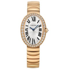 Cartier Baignoire Small Rose Gold and Diamond 'WB520002'