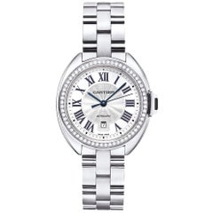 Cartier Clé White Gold and Diamond 'WJCL0002'