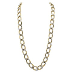 Cartier Diamond Long Link Necklace/Bracelets