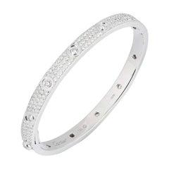 Cartier Full Pave Diamond Love Bracelet
