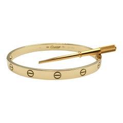 Cartier 'Love' Yellow Gold Bracelet