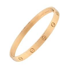 Cartier New Style Love Bangle Bracelet
