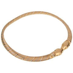 Cartier Panthere 18 Karat Gold Choker Necklace