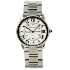 Cartier Ronde Solo WSRN0012, Silver Dial, Certified and Warranty