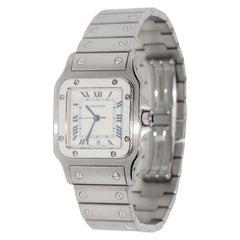 Cartier Santos Galbée Wristwatch in Stainless Steel New Model