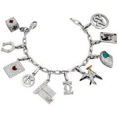 Cartier Ten-Charm Gold Bracelet