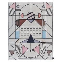 CC-Tapis Flatlandia Cartesio Outline Rug by Elena Salmistraro
