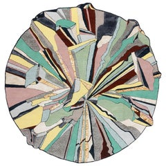 CC-Tapis Super Fake Super Round Rug by Bethan Laura Wood