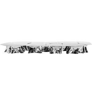 Zhoujie Zhang Mirror-Polished Stainless-Steel Table, New