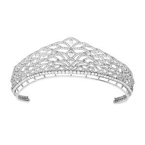 Garrard & Co. White Gold and Diamond Laurel Tiara, 2019