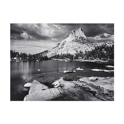 Ansel Adams, Cathedral Peak and Lake, Yosemite National Park, CA, 1960